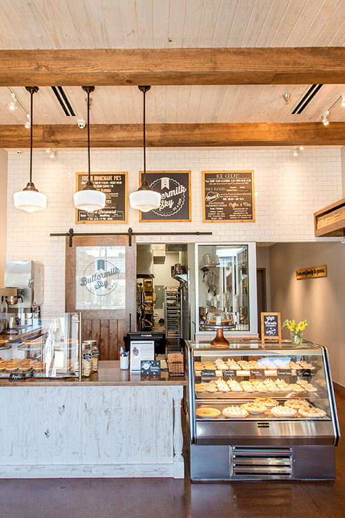 Interior picture of Buttermilk Sky Pie franchise